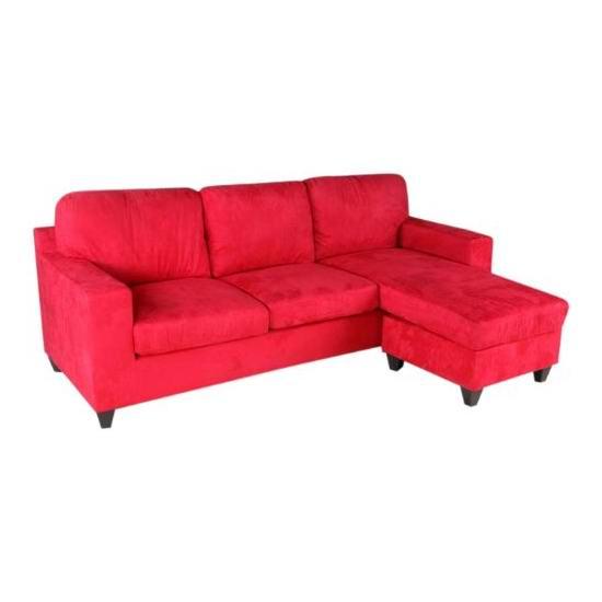 白菜价!历史新低!ACME Vogue 红色布艺组合沙发3折 252.26加元包邮!