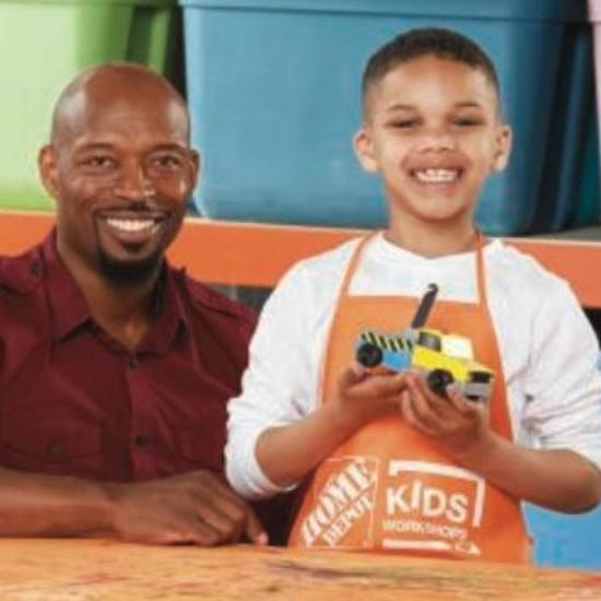 Home Depot 7-8月份免费儿童手工课,及家庭装修免费课程安排一览!