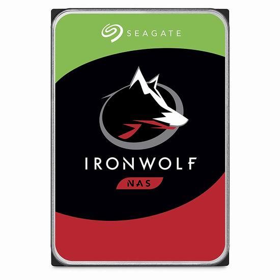 历史新低!Seagate 希捷 IronWolf 酷狼 3TB 网络存储器NAS 存储服务器专用硬盘 89.99加元包邮!
