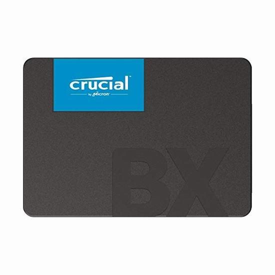 Crucial BX500 960GB 3D NAND SSD固态硬盘 7.1折 128.68加元包邮!