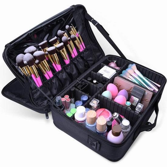 金盒头条:精选多款 Docolor 高品质化妆刷及收纳包 9.59加元起特卖!