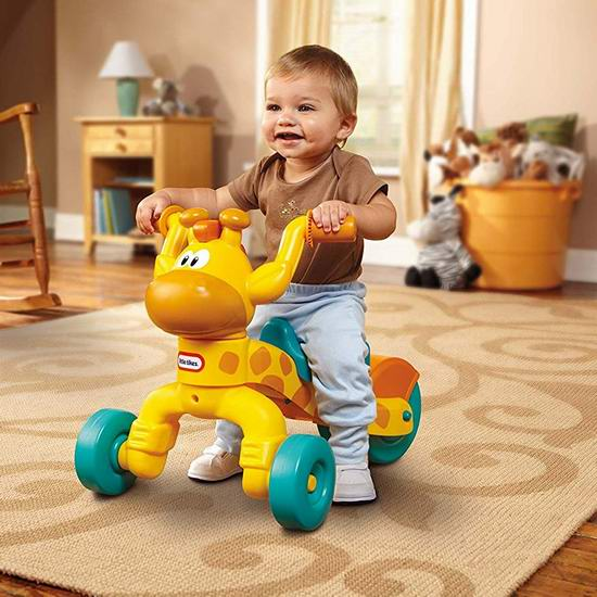 Little Tikes 小泰克 Go and Grow 长颈鹿 儿童三轮滑行车 36.01加元包邮!
