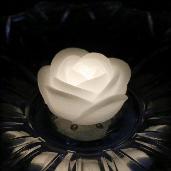 历史新低!ARDUX LED 防水漂浮 玫瑰花蜡烛夜灯4件套3折 6.99加元!
