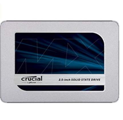 Crucial 英睿达 MX500 3D NAND 500GB 2.5英寸固态硬盘 79.99加元包邮!