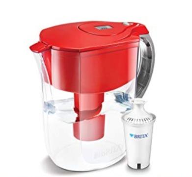 Brita 10杯家用滤水壶 26.58加元,原价 37.47加元