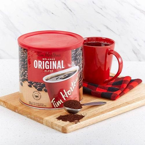 销量冠军!Tim Hortons Original 原味咖啡930克装 14.98加元!
