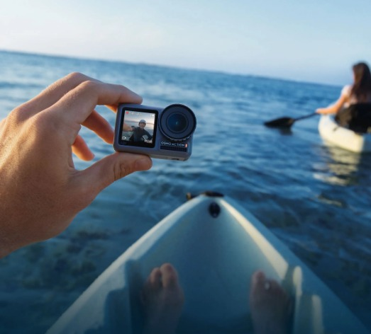 DJI 大疆 Osmo Action 4K HDR  前后双屏 灵眸运动相机 309.99加元包邮!