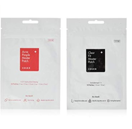 COSRX 隐形祛痘消炎痘痘贴+超薄隐形痘痘贴 9.98加元