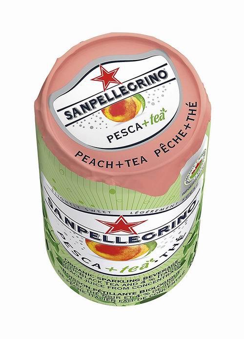 阿尔卑斯山矿泉水_San Pellegrino 意大利桃子味冰茶汽水 250毫升×24瓶 15.92加元,原价 22 ...