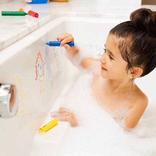 Munchkin 31286 宝宝浴室易擦洗蜡笔5件套 6.97加元,原价 7.99加元