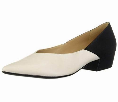 Naturalizer Betty 女士拼色粗跟鞋 98.96加元(7码),原价 167.74加元,包邮