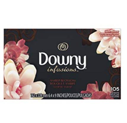 Downy 当妮 衣物柔顺烘干纸 105张 减少静电皱纹 3.99加元,原价 8.49加元
