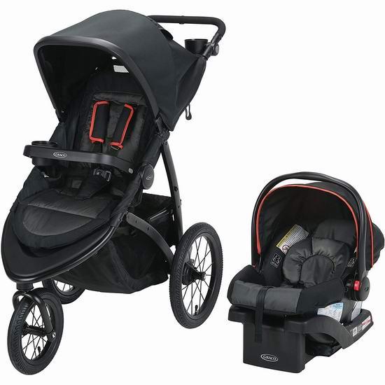 历史新低!Graco Roadmaster 婴儿推车 + 婴儿提篮套装4.9折 312.72加元包邮!