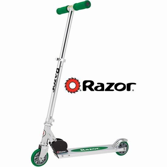Razor A Kick 绿色儿童滑板车 57.63加元包邮!