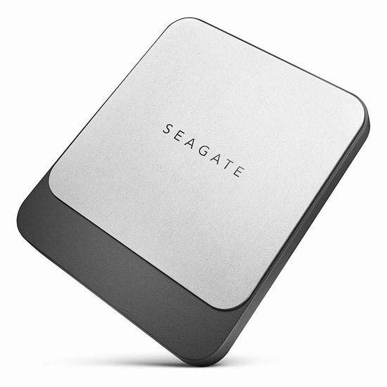 历史新低!Seagate 希捷 STCM500400 Fast SSD 飞翼 500GB 超轻薄便携式移动固态硬盘 99.99加元包邮!