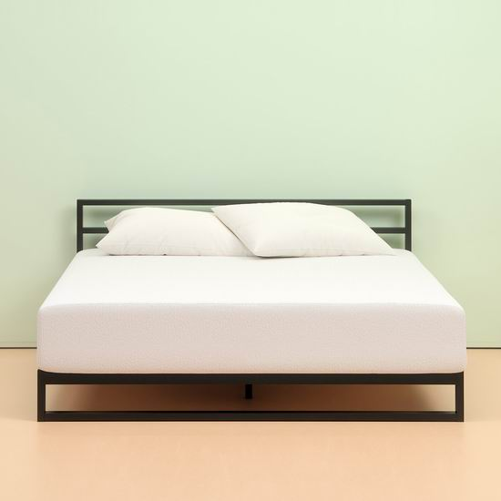 Zinus 10英寸 绿茶记忆海绵King床垫 349.99加元包邮!