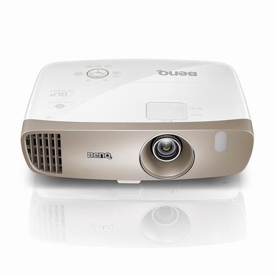 历史新低!BenQ 明基 HT3050 DLP HD 1080p 3D 专业家庭影院高清投影机5.8折 899.99加元包邮!