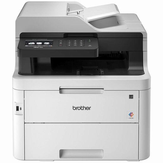历史新低!Brother 兄弟 MFCL3750CDW 多功能无线彩色激光打印机 349加元包邮!