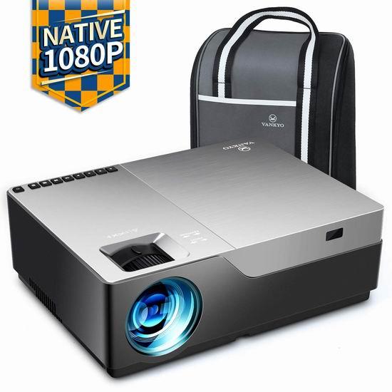 VANKYO Performance V600 Native 1080P 4000流明 家庭影院投影仪 243.47加元限量特卖包邮!