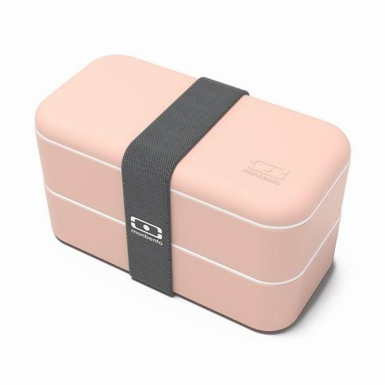 Monbento MB Original-Peach 桃红色 高颜值日式便当盒6折 27加元!
