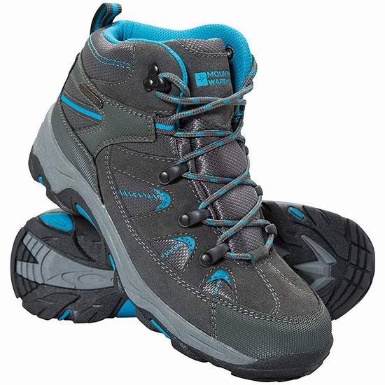 历史新低!Mountain Warehouse Rapid 女式登山靴4折 40加元包邮!2色可选!码齐!