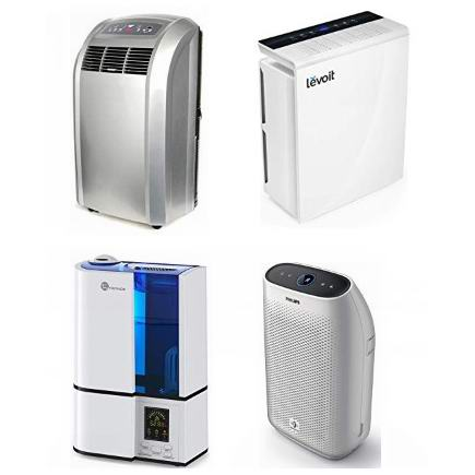 精选 Haier、Philips、Whynter、Levoit、TaoTronics 等品牌空气净化器、便携式空调、加湿器等4.8折起!会员专享!