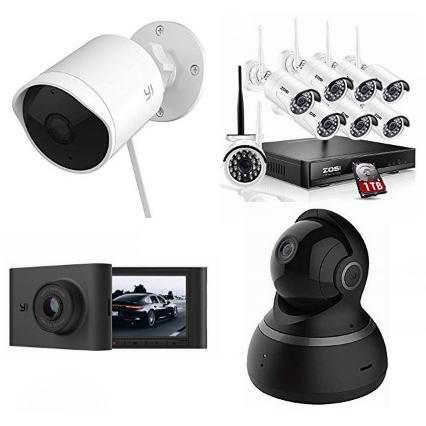 精选多款 小米、ZOSI、Reolink、eufy 品牌家庭安防摄像头、监控系统、行车记录仪、门窗防盗警报器等5.8折起!会员专享!