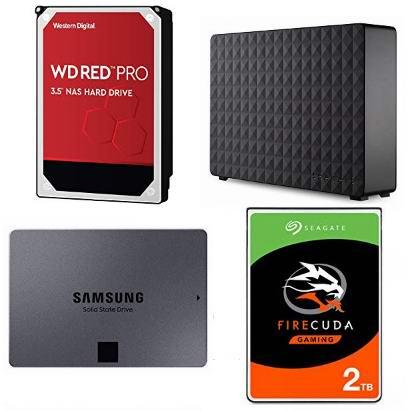 精选 SanDisk、WD、Seagate、Toshiba 等品牌移动硬盘、固态硬盘、台式机硬盘等4.5折起!会员专享!