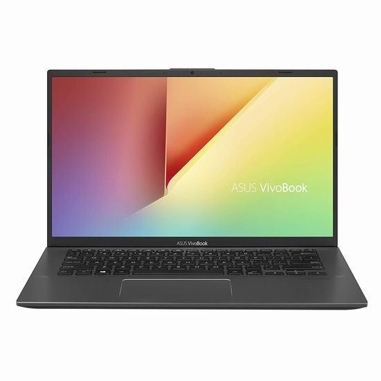 历史新低!ASUS 华硕 VivoBook 14英寸超轻薄笔记本电脑(4GB, 128GB SSD) 299加元包邮!