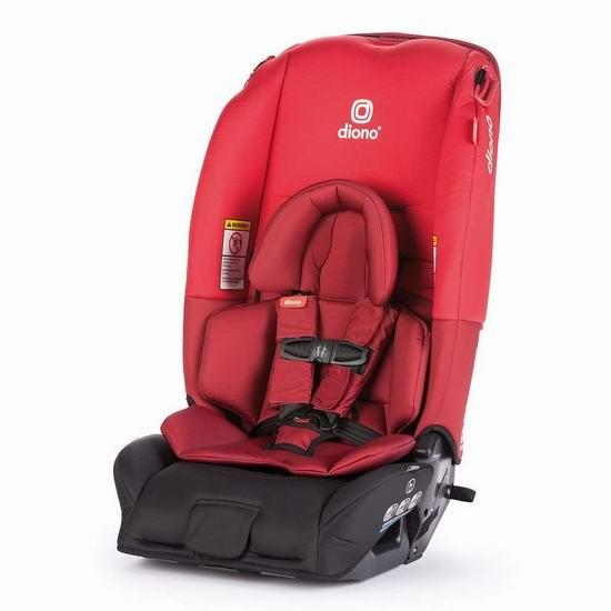 Diono 谛欧诺 radian 3 RX 成长型儿童汽车安全座椅 288-299.99加元包邮!5色可选!