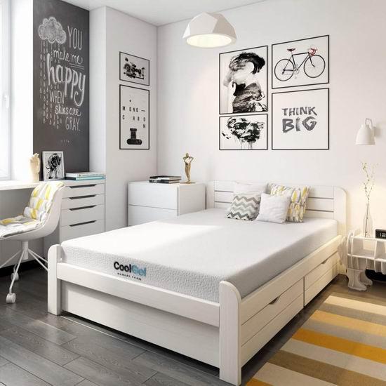 Classic Brands 8英寸 超舒适 Cool Gel 凝胶 Queen 记忆海绵床垫 328.73加元包邮!