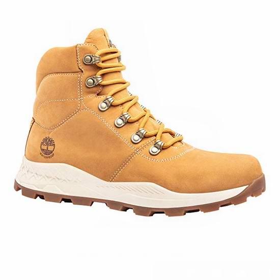 手慢无!Timberland 添柏岚 Brooklyn WP 纽约酷靴 男式复古大黄靴3.3折 60.1加元起包邮!