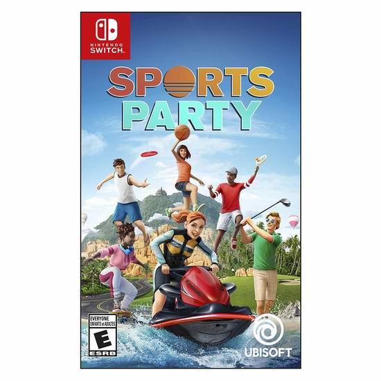 历史最低价!《Sports Party 运动派对》Switch版 视频游戏4折 19.99加元!