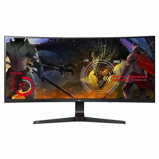 历史新低!LG 34UC89G-B 34英寸 21:9 曲面屏 电竞显示器5.3折 639.99加元包邮!