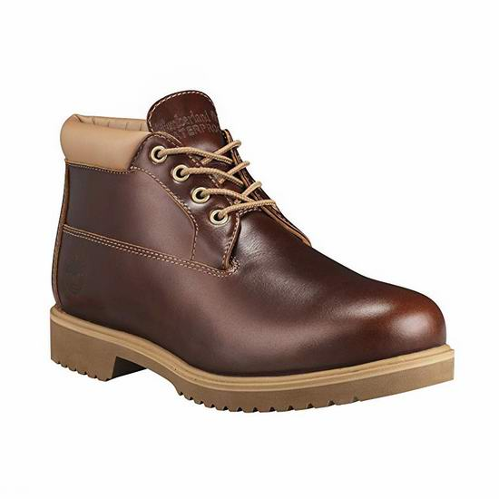 Timberland 添柏岚 Premium WP 男式真皮短靴 59.8加元起包邮(150加元)!2色可选!