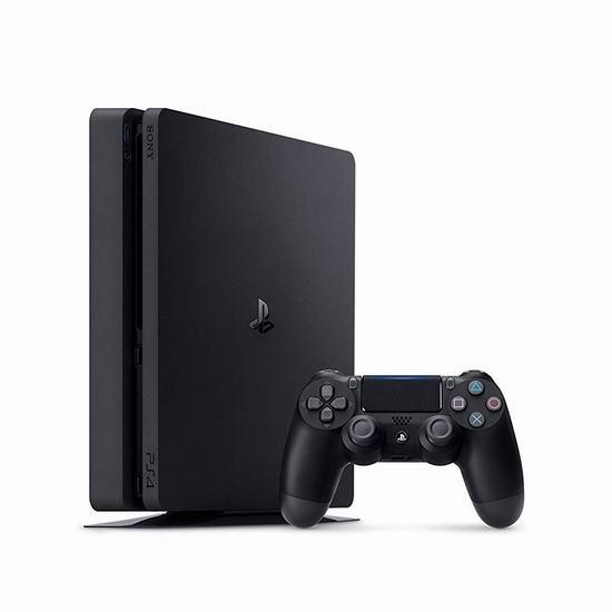 Playstation 4 1TB Slim游戏机 349.99加元,原价 379.99加元,包邮