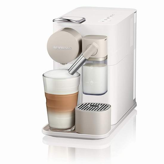 历史最低价!Delonghi 德龙 Nespresso Lattissima One 珍珠白 胶囊咖啡机6折 269.96加元包邮!