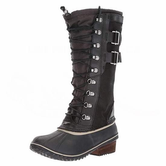 白菜价!Sorel 加拿大冰熊 Womens Conquest Carly Ii 女式长筒雪地靴(8.5码)3.2折 96.41加元包邮!