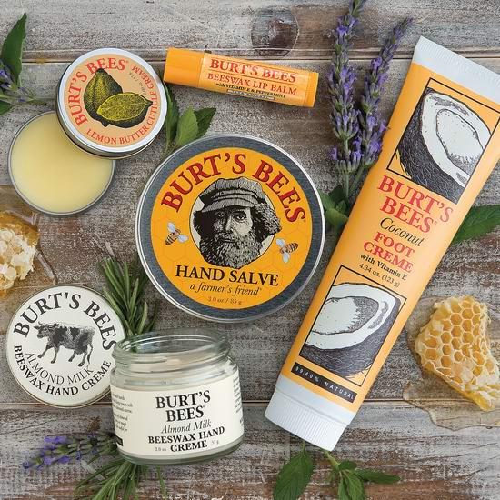 纯天然护肤!精选多款 Burt's Bees 小蜜蜂护肤、洗浴、美妆产品特价销售!Prime会员额外8折!