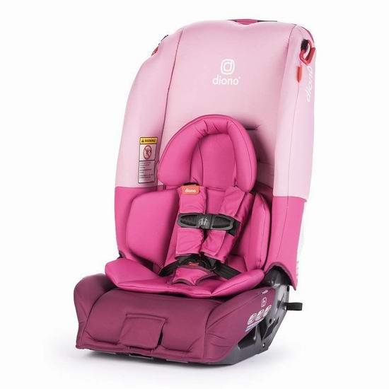 Diono 谛欧诺 radian 3 RX 成长型儿童汽车安全座椅 299.95加元包邮!4色可选!