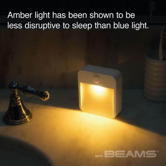 历史新低!Mr. Beams MB720A 运动感应LED夜灯5.3折 9.6加元!