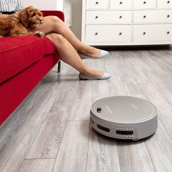 历史新低!bObsweep bObi Pet 宠物版 杀菌 智能扫地拖地机器人5.6折 256.85加元包邮!