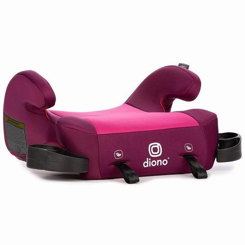 Diono 谛欧诺 Solana 无靠背儿童安全座椅 38.22加元(3色),原价 49.99加元,包邮