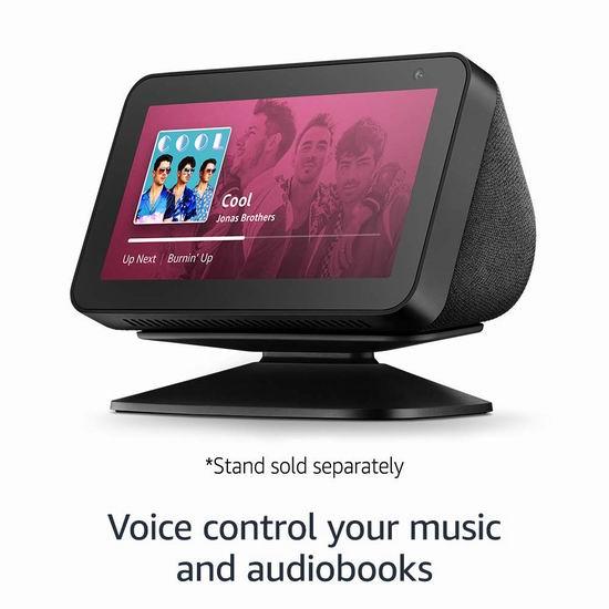 历史最低价!Echo Show 5 智能显示器 59.99加元包邮!2色可选!