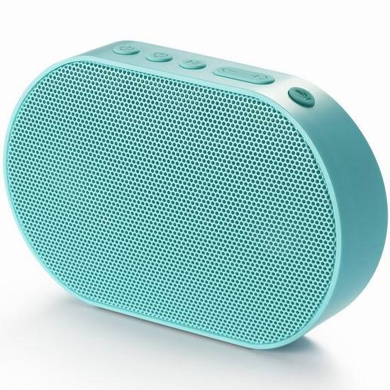历史最低价!GGMM 古古美美 E2 高颜值 WiFi/蓝牙无线 智能音箱 29.99加元!内置Alexa智能语音助手!4色可选!
