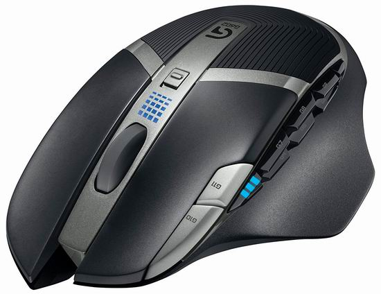 历史最低价!Logitech 罗技 G602 无线游戏鼠标3.3折 39.98加元包邮!