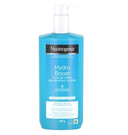 Neutrogena Hydro Boost超保湿身体护肤乳/身体凝胶霜 9.47加元,原价 12.47加元