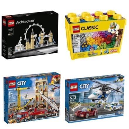 Indigo精选 Lego 乐高积木 6折起特卖,开发孩子智力,想象力和动手能力!