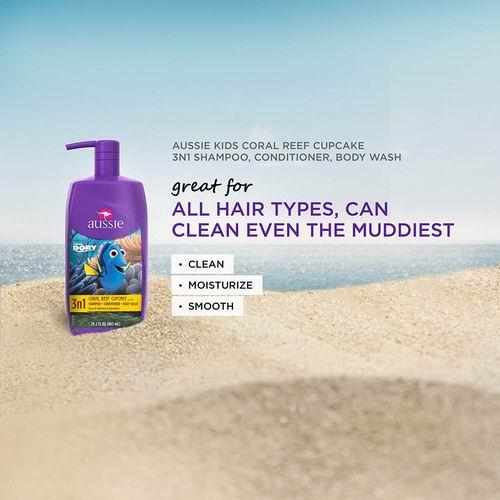 Aussie 3合1儿童洗发水护发沐浴露 778毫升 4.73加元