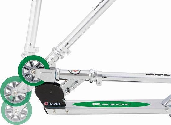 Razor A Kick 儿童滑板车 43.2加元包邮!2色可选!